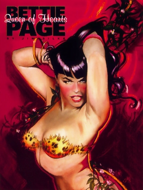 Bettie Page - book cover