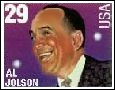 Al Jolson Commemorative Postage Stamp