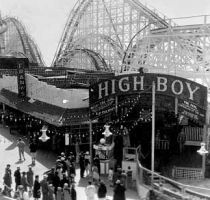 The High-Boy Rollercoaster, Lick Pier, Santa Monica, California